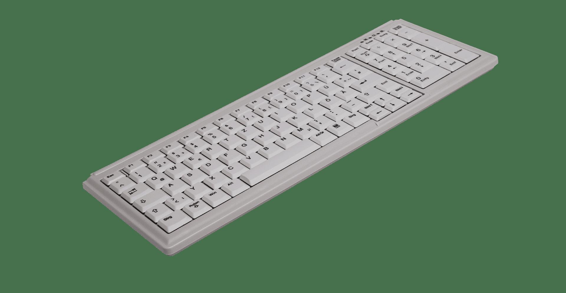 AK-7000 Small footprint notebook style keyboard - Active Key